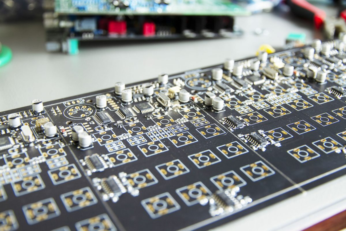 Majella printed circuit boards, ready for pcb assembly