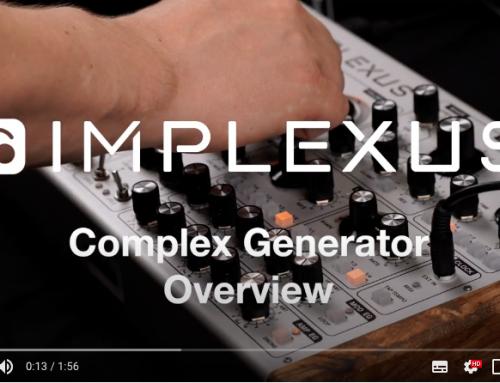 New demo: Complex Generator